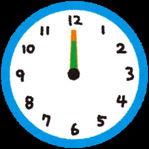 1分間取引際に重要な時計