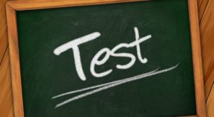 テストの画像