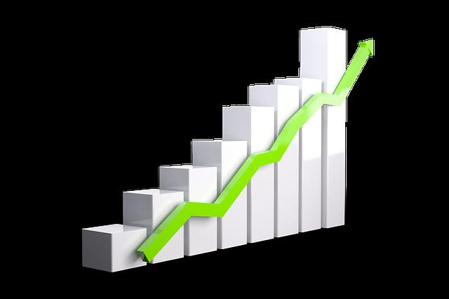 増加成長の画像